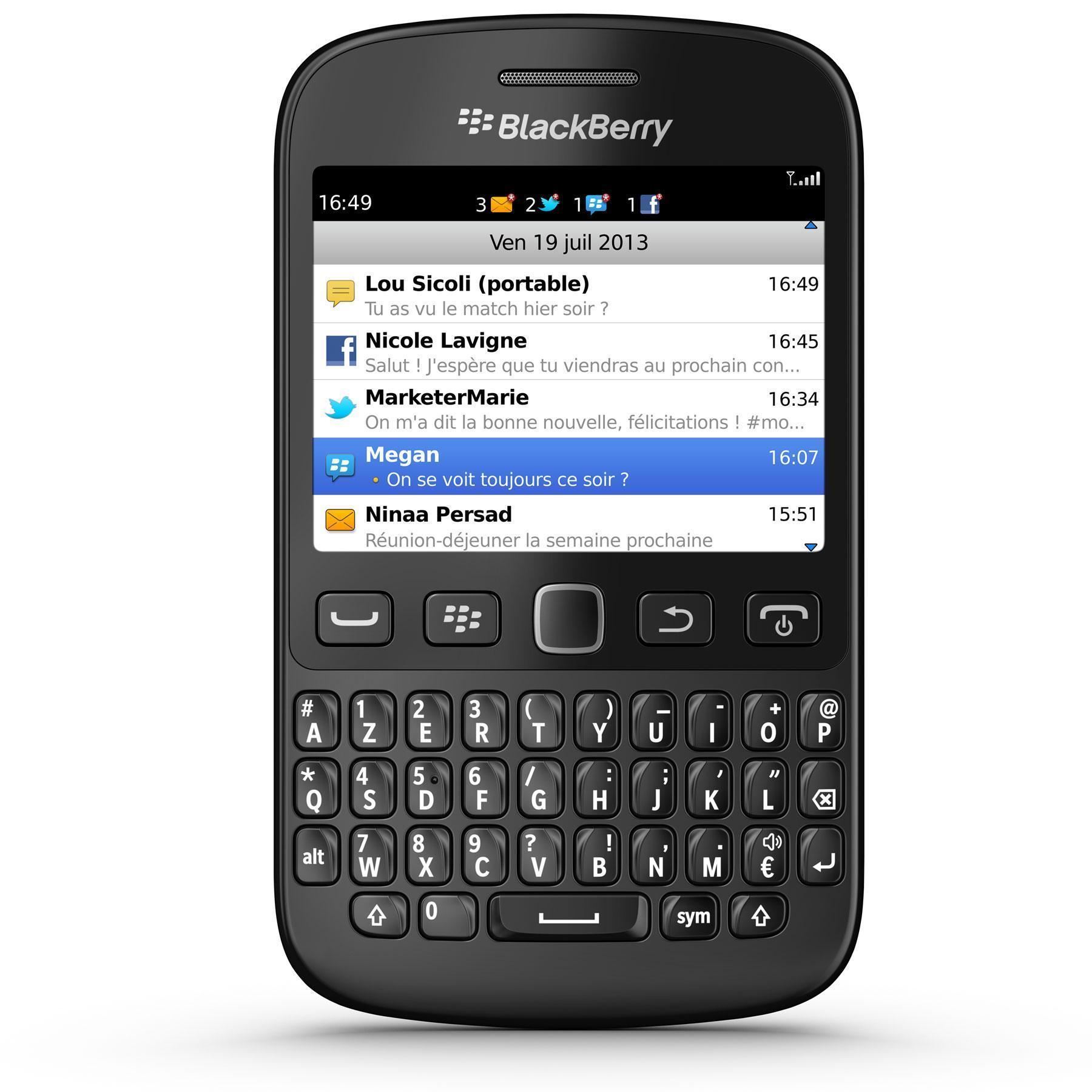Blackberry 9720 - Noir - Débloqué