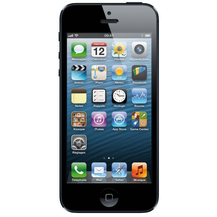 iPhone 5 32 Go - Noir - Débloqué