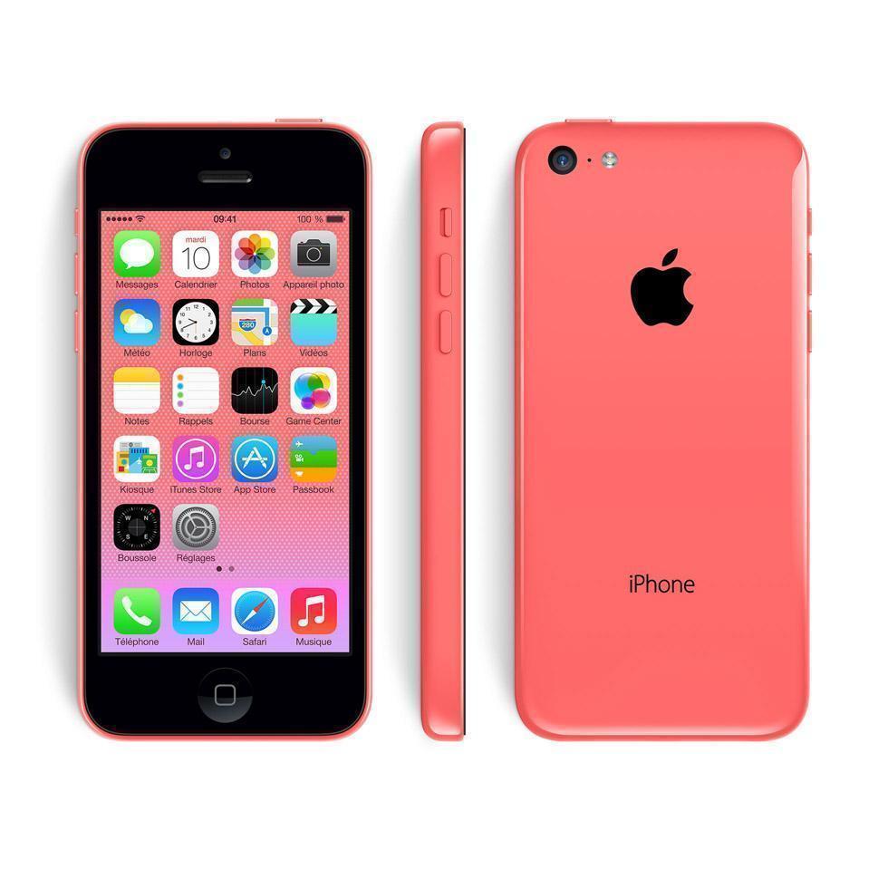 iPhone 5C 32 Go - Rose - Débloqué