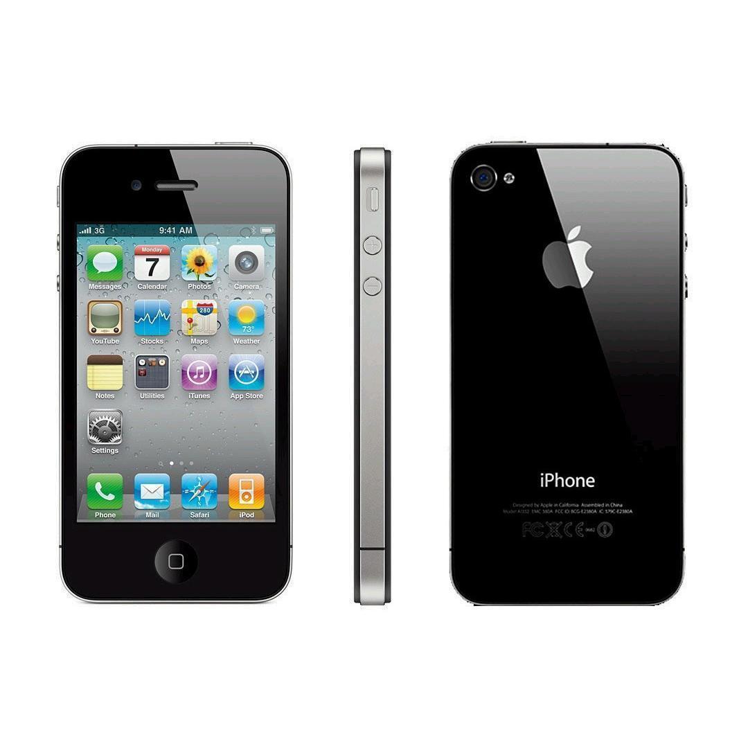 iPhone 4s 32GB - Schwarz - Ohne Vertrag