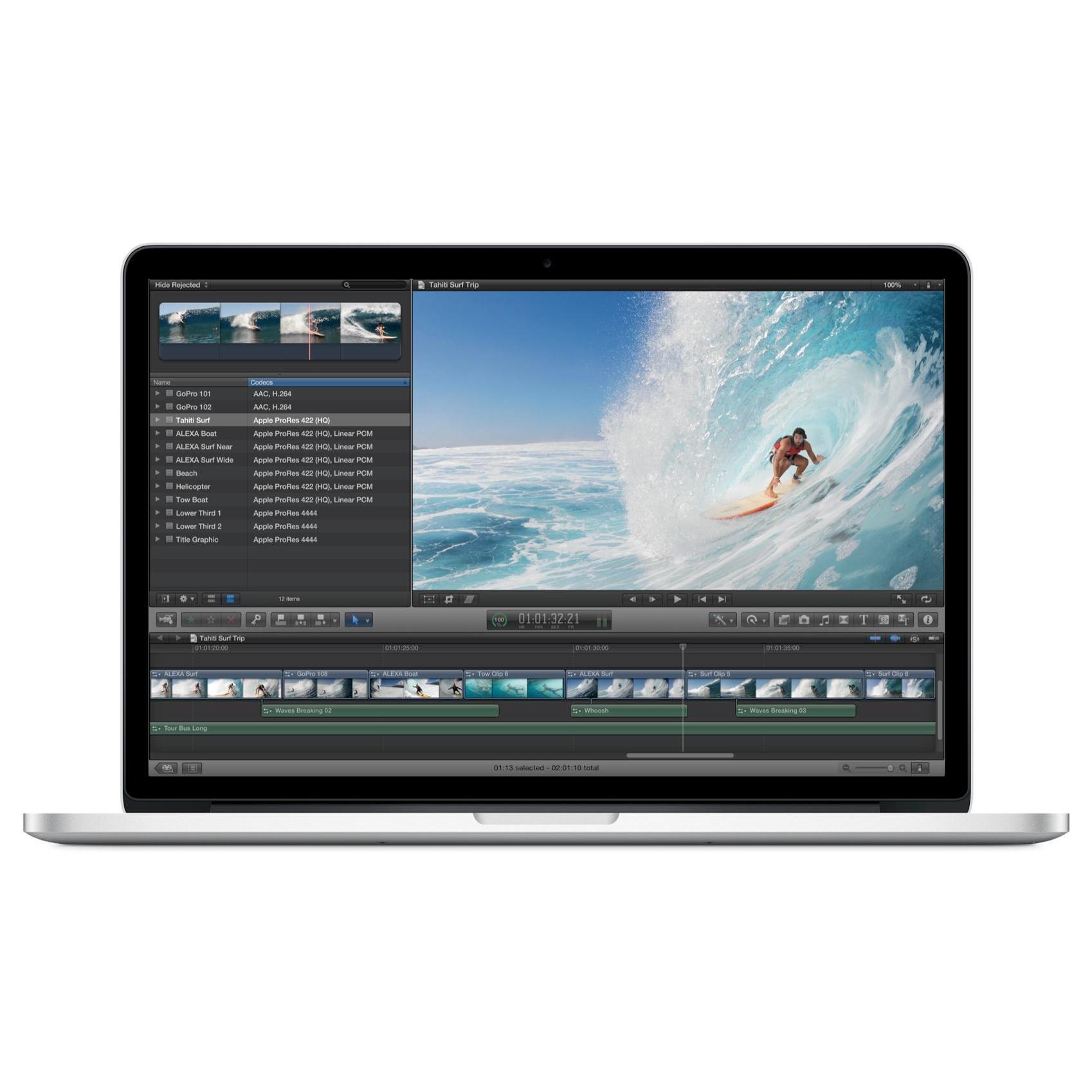 "MacBook Pro Retina 15"" Core i7 2.7 GHz - SSD 512 Go - RAM 16 Go"